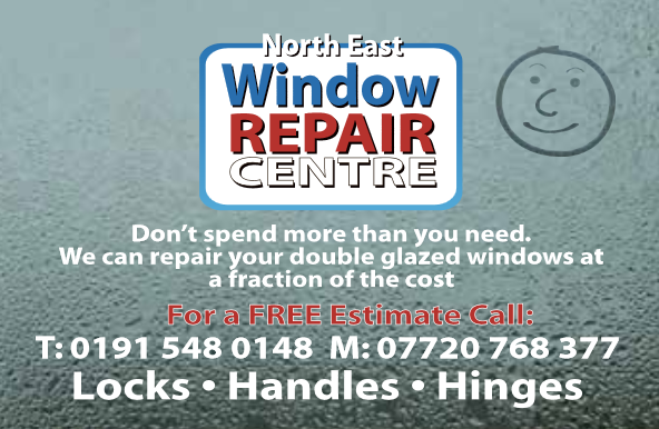 window repair centre card