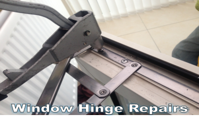 drafty window hinge repair